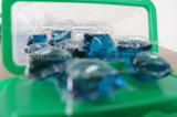 Detergente de lavanderia líquido de OEM&ODM 20g, vagem do detergente líquido, cápsula do detergente líquido da lavanderia da concentração 4X