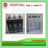 Batería de almacenaje alcalina recargable Ni-CD 1.2V100ah para el sistema 110V