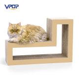 Кот изготовления фабрики модульный царапая кот Scratcher картона блоков