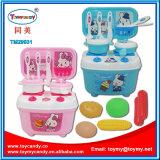 子供のための2017年の安全キッチン・テーブルのおもちゃセット