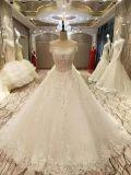 新しい到着2017の上の販売の結婚の水晶ウェディングドレス