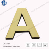 Le lettere decorative del metallo di saldatura del laser hanno spazzolato le lettere dell'acciaio inossidabile