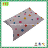 Caja de almohada de impresión de papel recubierto Custtome