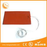 Placa quente flexível de borracha de Slicone da alta qualidade excelente da condutibilidade de calor
