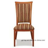 Первоклассный деревянный металл круглой задней части взгляда обедая стул