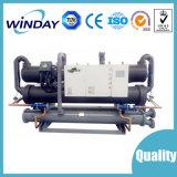 Refrigerador de refrigeração água do parafuso para a produção concreta