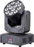 12X3w RGBW Weihnachtslicht des Wäsche-bewegliches Kopf-LED