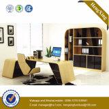 Прикрепленный Bookcase стол офиса менеджера шкафа Hutch деревянный (NS-NW176)