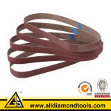 Secar la correa que enarena del óxido de aluminio del uso