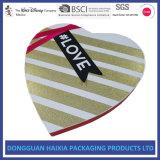 최신 판매 발렌타인 초코렛 차 종이 선물 상자