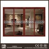 Het Hout van Woodwin en de Samengestelde Schuifdeur van het Aluminium met Dubbel Aangemaakt Glas