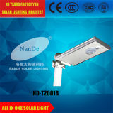 25 Watt alle in einem LED-Solarstraßenlaternefür Garten