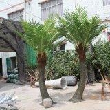 Palmier artificiel extérieur en plastique de noix de coco de vente en gros à la maison de décoration de jardin