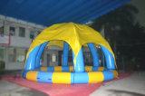 Im Freien Belüftung-aufblasbarer Swimmingpool für Sommer