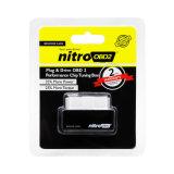 Stecker-und Leistungs-Chip-justierenkasten des Laufwerk-Nitroobd2 für Benzin-Autos