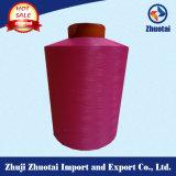 編むことのための40d/14f中国のナイロンドープ塗料によって染められるヤーン