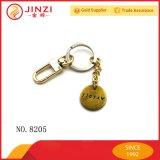 Kundenspezifischer Markenname-Firmenzeichen-Metallmünzen-Halter Keychains