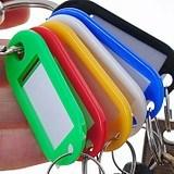 多彩な荷物の札か自動閉鎖プラスチックTag/PP車の主札