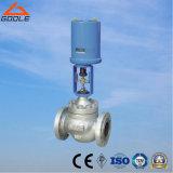 Válvula de diafragma elétrica de /Electric da válvula de controle do fluxo do diafragma (GZDLT)