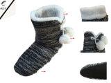 3つのカラー縞のニットの靴(RY-SL16121)