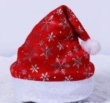 Chapéu do Natal do tampão de Santa do presente do Natal da promoção