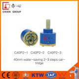 Cartucho de ahorro de agua de 40 mm de la válvula principal con los pasos