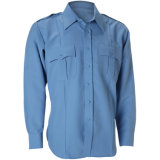 Mens 경비원 획일한 경찰 작업복 안전 방어적인 셔츠