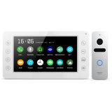 Garantie à la maison de Doorphone de mémoire 7 pouces d'intercom de téléphone visuel de porte