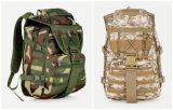 Morral militar del combate del ejército de los colores, bolso de nylon al aire libre del recorrido que acampa