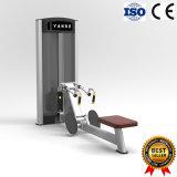 Polia horizontal assentada máquina do exercício do equipamento da ginástica de Selectorized