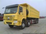 HOWO 336HP 디젤 엔진 8*4 덤프 트럭