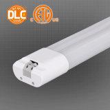 5 años de garantía UL / cUL / DLC / CE / RoHS Aprobado LED T8 tubo de luz de emergencia
