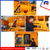 Тепловозной и электрической установленный тележкой насос конкретного смесителя для сбывания (JBC40)