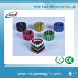 Магнитные шарики с по-разному цветами
