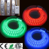 Couleur imperméable à l'eau changeant la bande 60LED/M 110V/220V de la bande Light/LED de RVB DEL