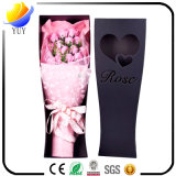 La boîte-cadeau à extrémité élevé du cadre de fleur de Rose