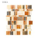 Mattonelle di mosaico di vetro italiane di Backsplash del turchese per le piscine