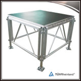 Na venda, estágio portátil de alumínio para desempenho