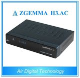Sintonizzatori gemellare Zgemma H3 di OS E2 DVB-S2+ATSC di Linux. Ricevente satellite di CA FTA per l'America/Messico