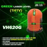 Lijnen van de Laser van het Niveau Vh620g van de Laser van Danpon de Groene Dwars