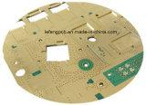 kommunikations-Vorlagenglas-Kreisläuf gedruckte Schaltkarte der 2.00mm des Gold8layers Immersion-Fr4+PTFE Hochfrequenz