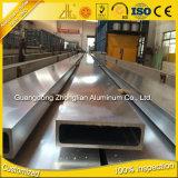 El aluminio de Guangdong sacó las esquinas redondeadas del cuadrado de las fuentes de la fábrica