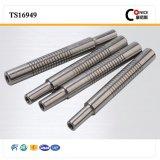 Точность CNC фабрики ISO подвергая механической обработке показывая вал глиста