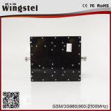 Ganancia 4G de banda dual GSM WCDMA 3G 2G ajustable móvil Amplificador de señal