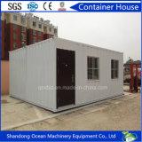 Casa modular prefabricada caliente del envase de la casa del bajo costo de la venta de la estructura de acero ligera