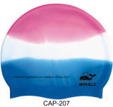 Multicoloured High Quality Silicone Swimming Hat