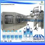 3 automáticos en 1 máquina de rellenar del agua mineral