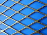 La rete metallica tirata del piatto/amplia la maglia del metallo
