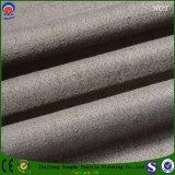 Tela de linho do poliéster resistente do escurecimento para o uso da cortina da fábrica Home de matéria têxtil