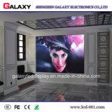 Écran de visualisation visuel fixe d'intérieur de mur de DEL pour la publicité